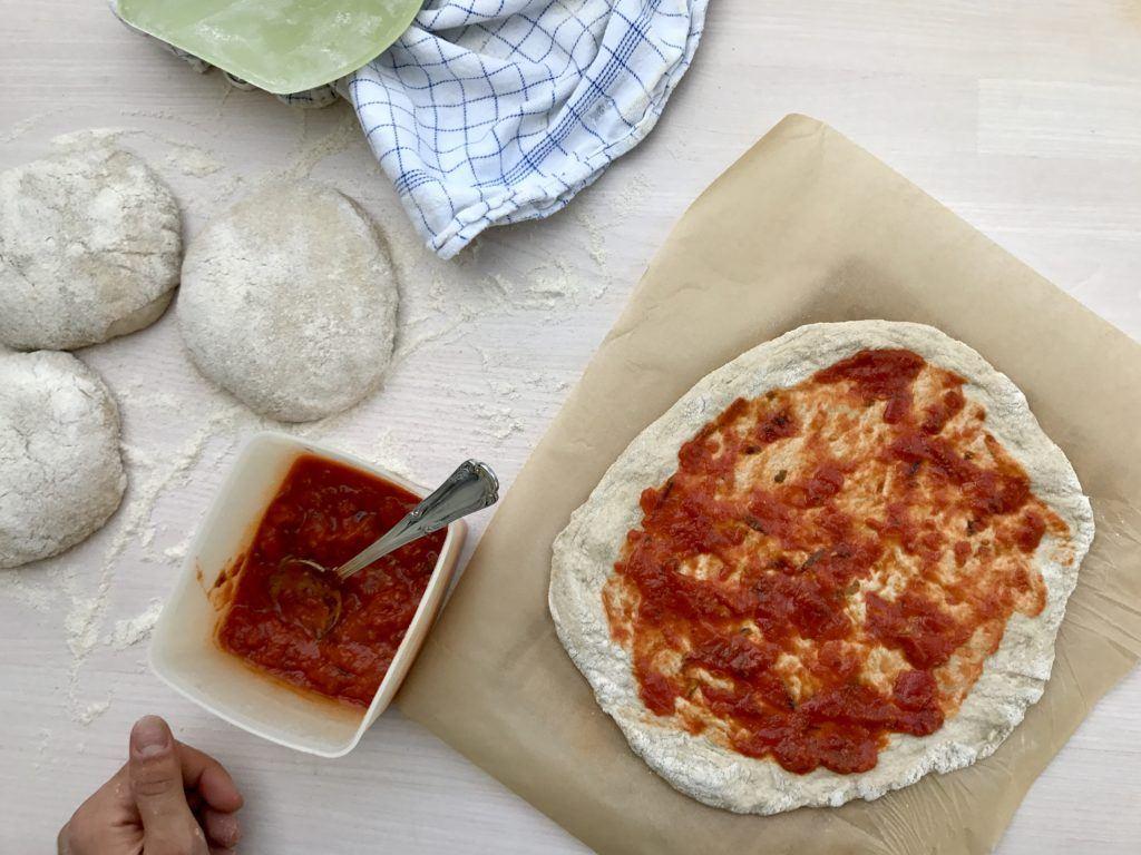 Hjemmelavet Surdejspizza 9