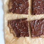 Kerneknækbrød med surdejsrester og mørk chokolade 5