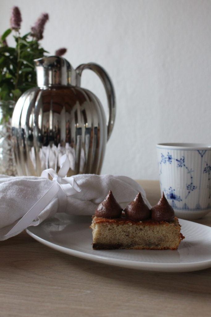 Banankage med Luksus Chokolade Ganache 5