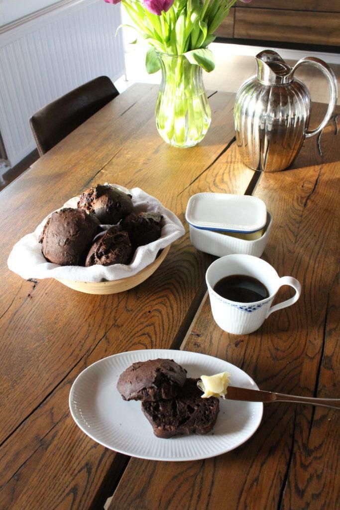 Chokolade Noir - Surdejs Boller med massere af Chokolade 9